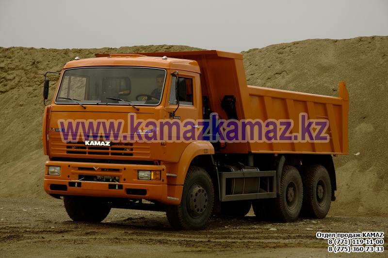 Cамосвал Камаз 6520
