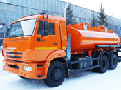 Топливозаправщик НЕФАЗ 6606-А4 (Евро-4)